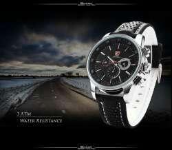 Pacific Angelshark - стильные кварцевые часы.