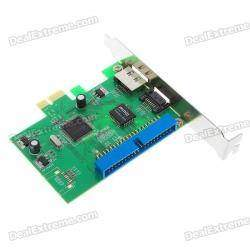 Подключаем старый IDE жесткий диск к новой материнской плате \ JMicron JMB363 PCI-E + 1 ESATA + 1 SATA + 1 IDE