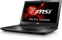 Акция на геймерский ноутбук MSI GL62M на Intel Core i7-7700HQ и NVIDIA GeForce GTX1050 Ti