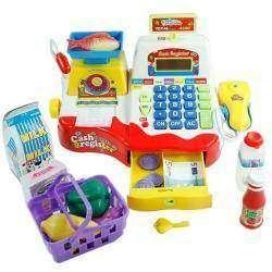 Обзор игрушки кассы с товаром, песнями и сканером штрихкодов