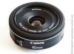 Обзор миниатюрного объектива Canon EF 40mm f/2.8 STM