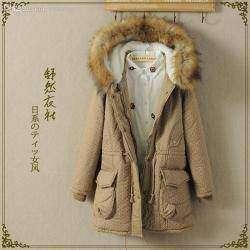 Моя любимая зимняя куртка в стиле Mori Girl, парка