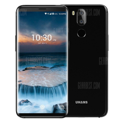 Смартфон Uhans i8 с приличными характеристиками и распознаванием лиц