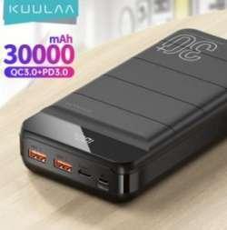 Обзор павербанка KUULAA 30000 mAh с QC PD 3.0