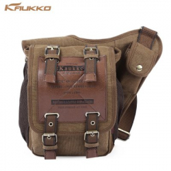 Качественная парусиновая сумка KAUKKO FH03