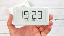 Часы Xiaomi Mi home (Mijia) с экраном E-ink, термометром, гигрометром и Bluetooth