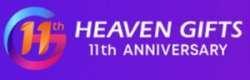 Празднование 11-летия heavengifts - минус 35% с кодом AHG11