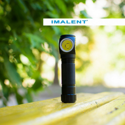 Обзор налобного фонаря Imalent HR70: встроенная зарядка, магнит и 3000 люмен (XHP-70.2).
