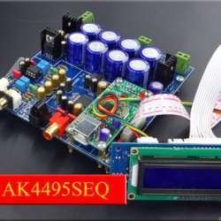 AK4495SEQ + USB конвертер, собираем ЦАП из набора