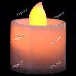 7-цветная, автоматически изменяющая цвет лампа в форме свечи