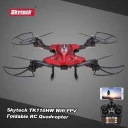 Skytech TK110HW - живучий складной квадрокоптефр