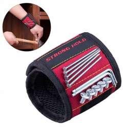 Бесплатно магнитный браслет держатель винтов/гвоздей - для различных работ