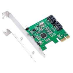 Адаптер SATA3 IOCREST IO-PCE9120-2I на Marvell 88SE9120