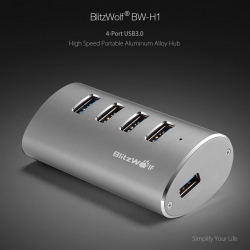 Обзор отличного USB 3.0 хаба BlitzWolf BW-H1