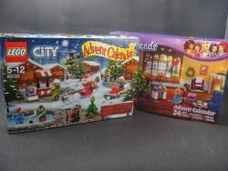 Обзор LEGO Advent Calendar рождественский календарь серия City и Friends