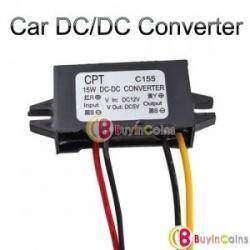 Автомобильный светодиодный преобразователь энергии 5В 3A 15WВт