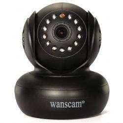 Домашняя беспроводная IP-камера WANSCAM JW0004 с функцией Pan-Tilt