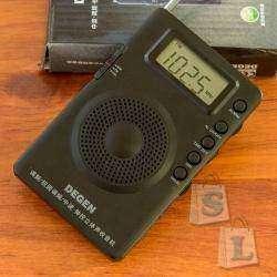 Портативный радиоприёмник DEGEN DE 215 (FM, MW, FML, DSP Digital Radio)
