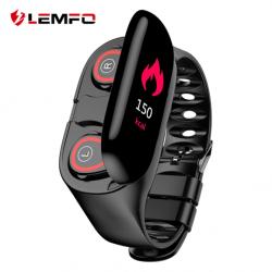 Обзор Lemfo M1: фитнес-браслет с беспроводными TWS-наушниками. Такого вы еще не видели!..