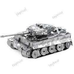 Сборная модель танка «Тигр» из металла