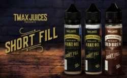 Shortfills от британской премиальной жидкости Tmax Juices - сделай под свой вкус