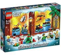 Обзор новогоднего календаря Advent Lego City Calander 2018 (адвент календарь лего 60201)