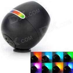 Лампа светодиодная, меняющая цвет, с сенсорным управлением.