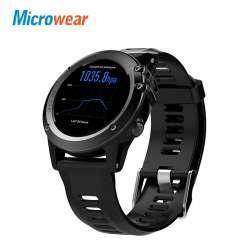 Microwear H1 - достаточно приличные умные часы со сменным ремешком и защитой IP68.