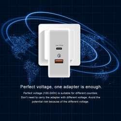 Тестируем T-Phox 30W: PD (Power Delivery) зарядное для MacBook, IPad, Iphone и Android девайсов