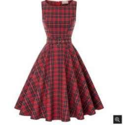 Платье с тартаном от Belle Poque. Качество vs цена