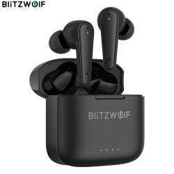 Новейшая модель TWS наушников BlitzWolf BW-FYE11. Отличный звук, шумоподавление и полноценное управление