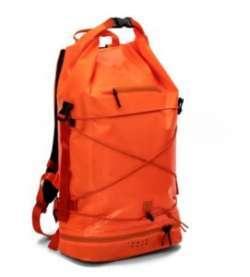 Обзор рюкзака шведского бренда IAMRUNBOX - модель Spin Bag Orange
