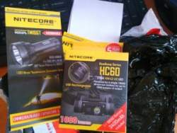 Nitecore HC60 - налобный фонарь со всем необходимым