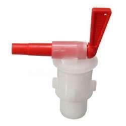 Кран из пищевого пластика для розлива жидкости из различных ёмкостей