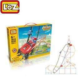 Обзор детского конструктора фирмы LOZ 'Парк развлечений' - 534 детали.