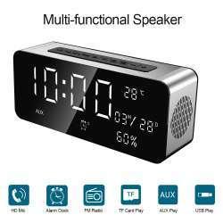 Часы-колонка SARDINE A10 с bluetooth и fm радио
