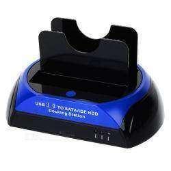 """Универсальная USB 3.0 док-станция для SATA/IDE 2.5""""/3.5"""" жестких дисков"""