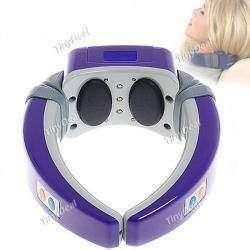Вибромассажер для шеи с электрическими импульсами