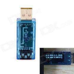 Mini 0.6' OLED USB Charger Doctor Tester - Тест батареи, зарядного, USB кабеля.