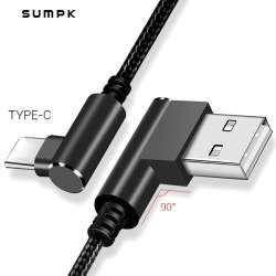 Максимально двусторонний кабель type-C от SUMPK
