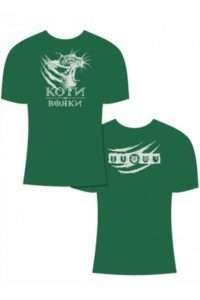 'Коты-воители' - фанатская футболка для котофилов