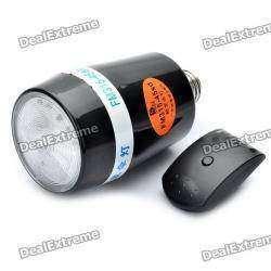 Недорогая универсальная внешняя фотовспышка под патрон от лампочки