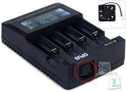 Замена кулера в Opus BT-C3100 Li-ion NiCd NiMH Battery Charger