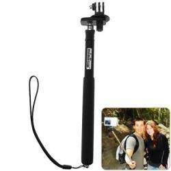Extendable Telescopic Self Portrait Pole Monopod with Tripod for Gopro