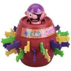 Обзор настольной детской игрушки 'Пират в бочке'