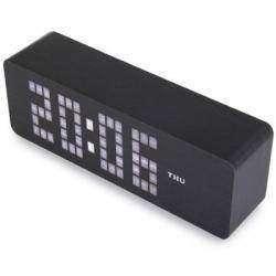 Настольные led часы с календарем и термометром