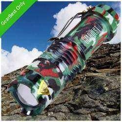 Карманный фонарик камуфляжной раскраски SK68 XPE Q5 400LM 5500K