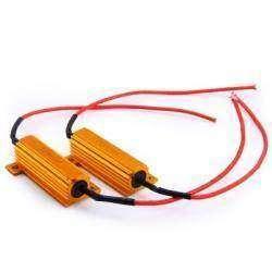 Комплект резисторов для тестов - 6 Ом, 50 Ватт, с встроенными радиаторами