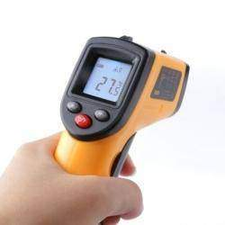 Обзор GM320 инфракрасный пирометр термометр с диапазоном -50С + 380С