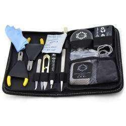 Набор инструментов для любителя электронных сигарет (Original LTQ Vapor DIY RBA Tools Kit) + подставка под атомайзеры.